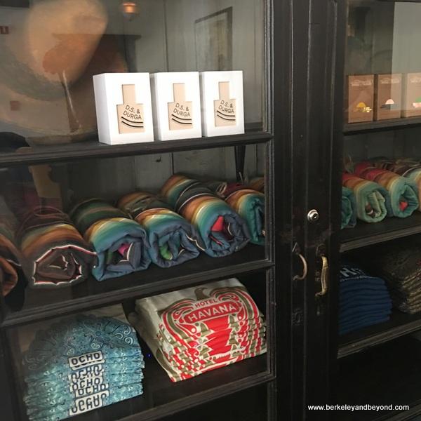 gift shop closet at Hotel Havana in San Antonio, Texas