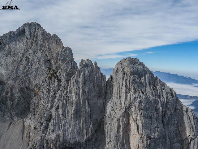 wandern wilder kaiser - ellmauer tor - ellmau - wochenbrunner alm
