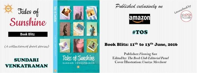Book Blitz: TALES OF SUNSHINE by Sundari Venkatraman