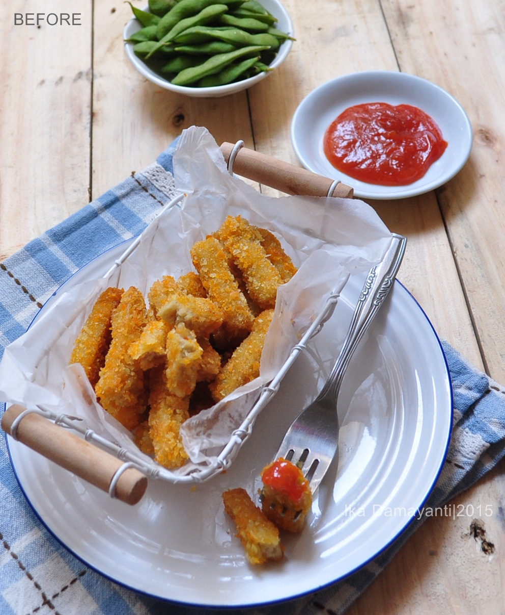 Nugget Adalah: MamaDhiNar Kitchen: Nugget Ayam Stik