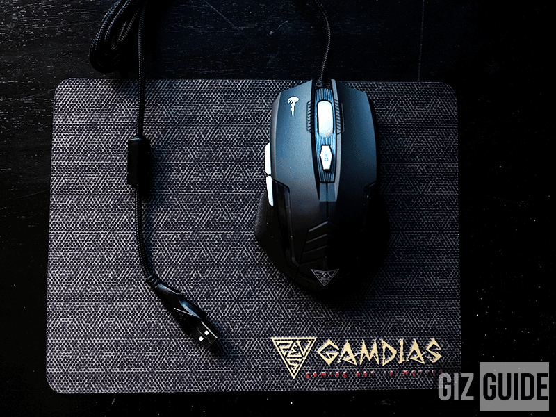 The gaming mice