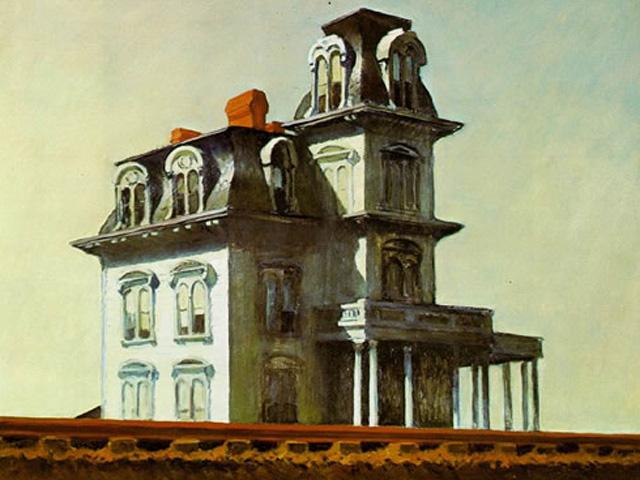 La famosa pintura de Edward Hopper.