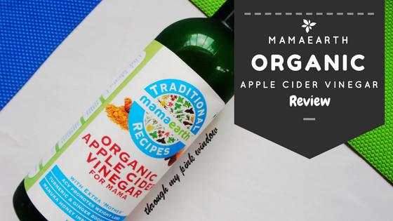 Mamaearth Organic Raw Apple Cinder Vinegar for mama : Review