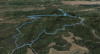 Recorregut: Carretera B-110-Torre Alta-Castell Ferran (El repte dels 100 cims)
