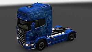 Highlander skin for Scania R