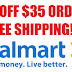 $10 off $35 Walmart Order + Free Shipping - First 50,000