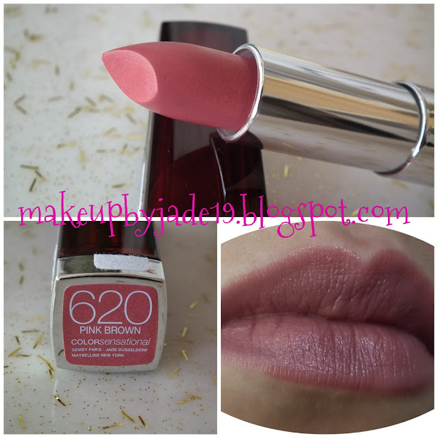 Rossmann Collage Maybelline 620 Pink Brown Lipstick || Ruj - Makeup By Jade