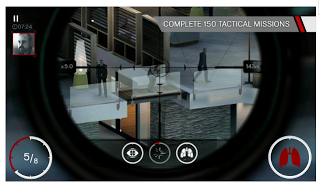 Game Hitman: Sniper v1.7.73988 Apk Data OBB Mod Unlimited Money Latest Update