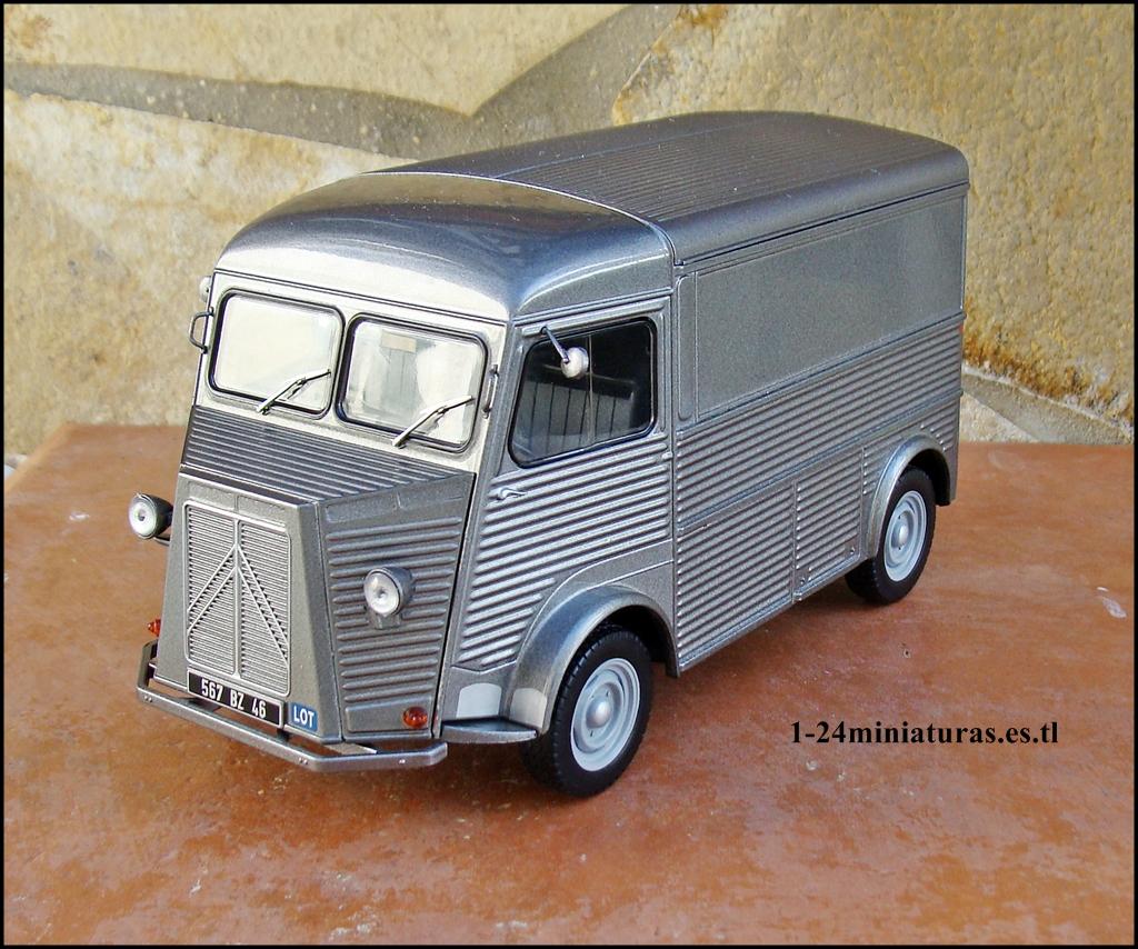 1 24 miniaturas entrega 13 citroen type h 1 24 auto vintage de luxe collection hachette. Black Bedroom Furniture Sets. Home Design Ideas