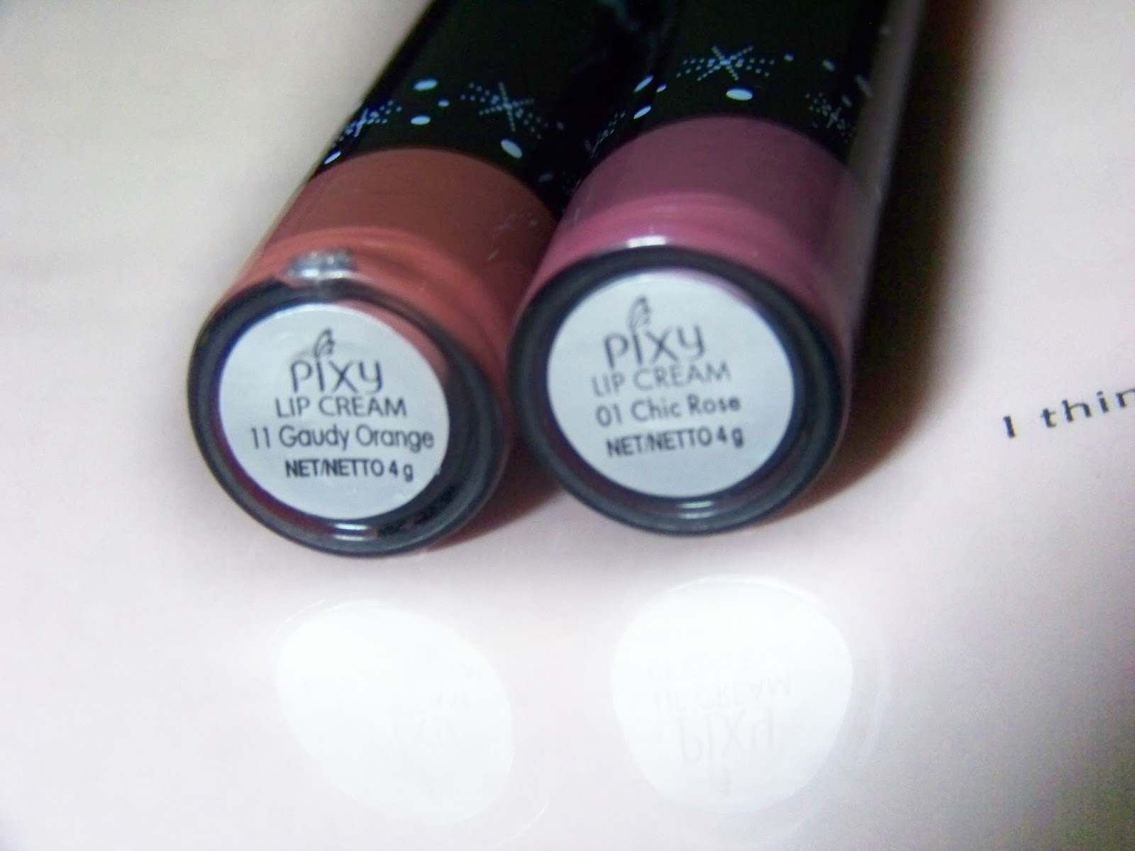 pixy Lip Matte Cream no. 01 dan 11