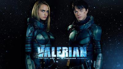 Dane DeHaan y Cara Delevingne en Valerian