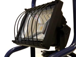 LED-Strahler Seitenansicht