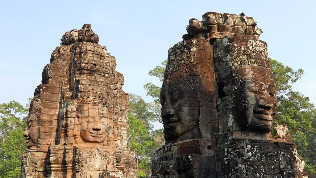 Euriental - Prasat Bayon, Angkor Thom, Siem Reap, Cambodia