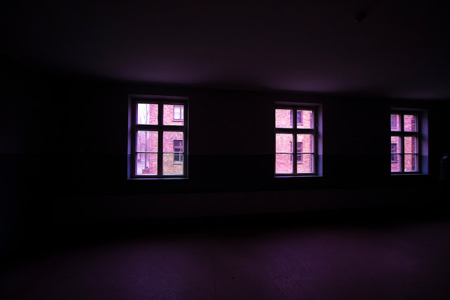 Interno Caseggiato-Campo di concentramento di Auschwitz
