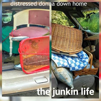 swap meet, junkin trip, vintage finds, Friday finds, red wagon