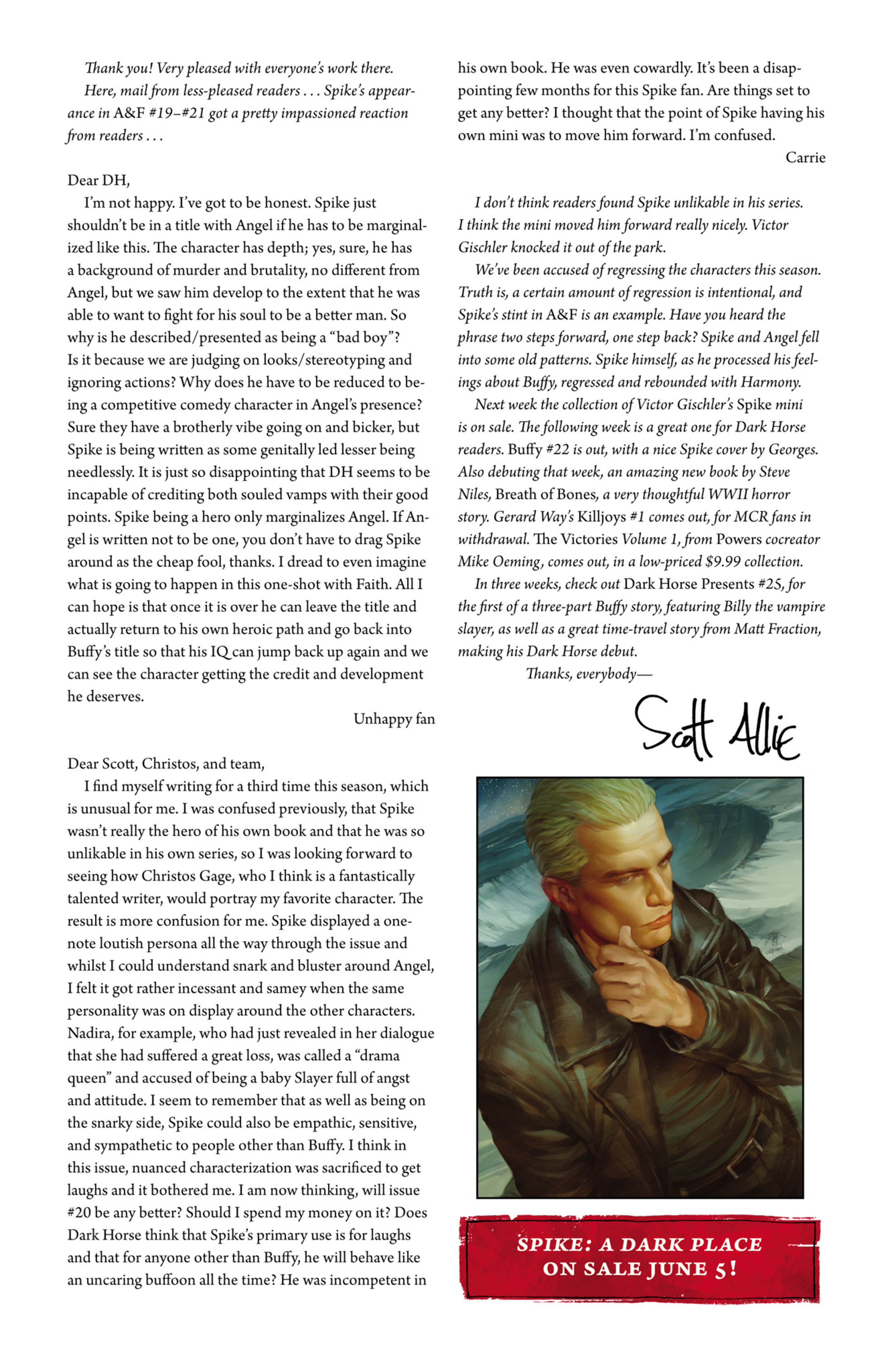 Read online Angel and Faith comic -  Issue #22 - 27