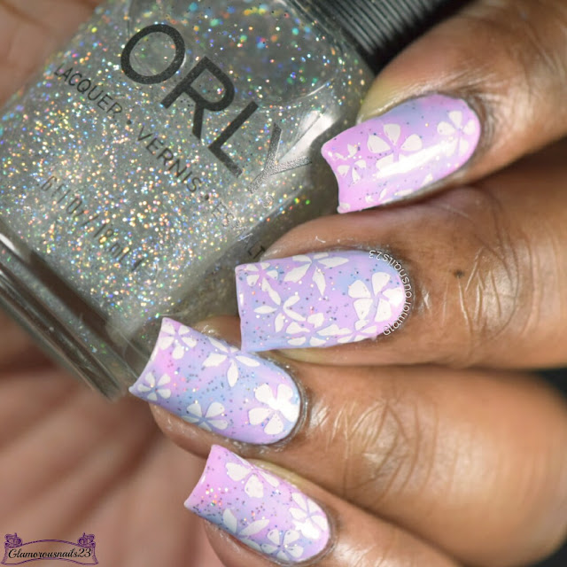 Clairestelle8 February 2017 Day 4 - Pastel & Challenge Your Nail Art February 2017 Week One - Flowers