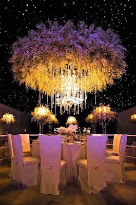 dekorasi cantik nikahan: 3 susunan bunga unik untuk