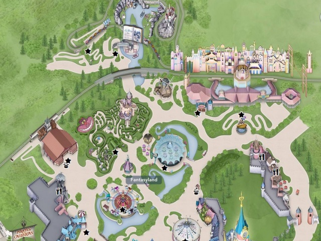 Fantasyland en Disneyland Paris