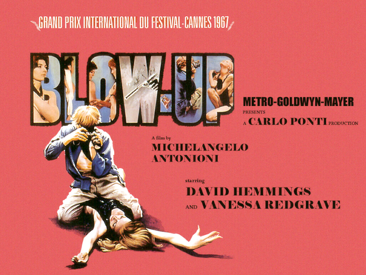 A Vintage Nerd, Classic Film Blog, Blow Up 1960s Film Reviews, Old Hollywood Blog