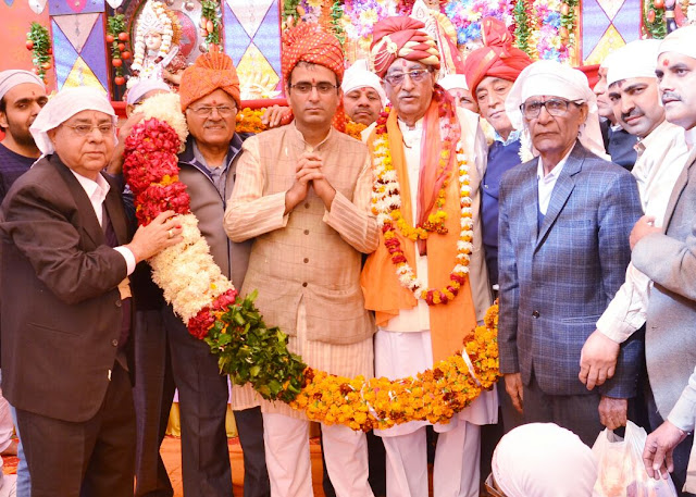 Former Minister AC Chaudhary's birthday celebrated with great love