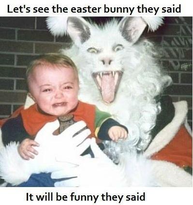 Funny Easter Bunny meme