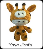 Muñeco yoyo jirafa