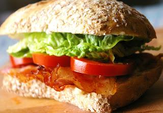 amerykańska kanapka z bekonem, BLT sandwich