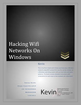 Hacking Wifi Network on Windows in PDF Download eBook