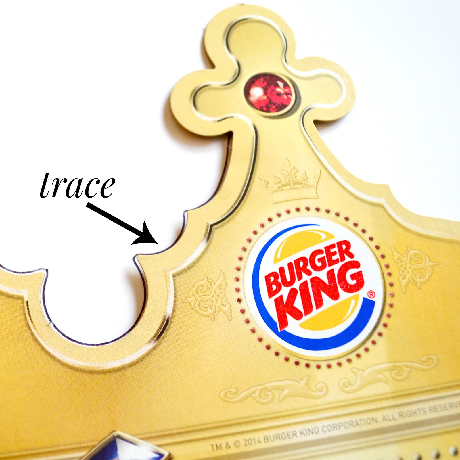 burger king crown template image collections template design ideas
