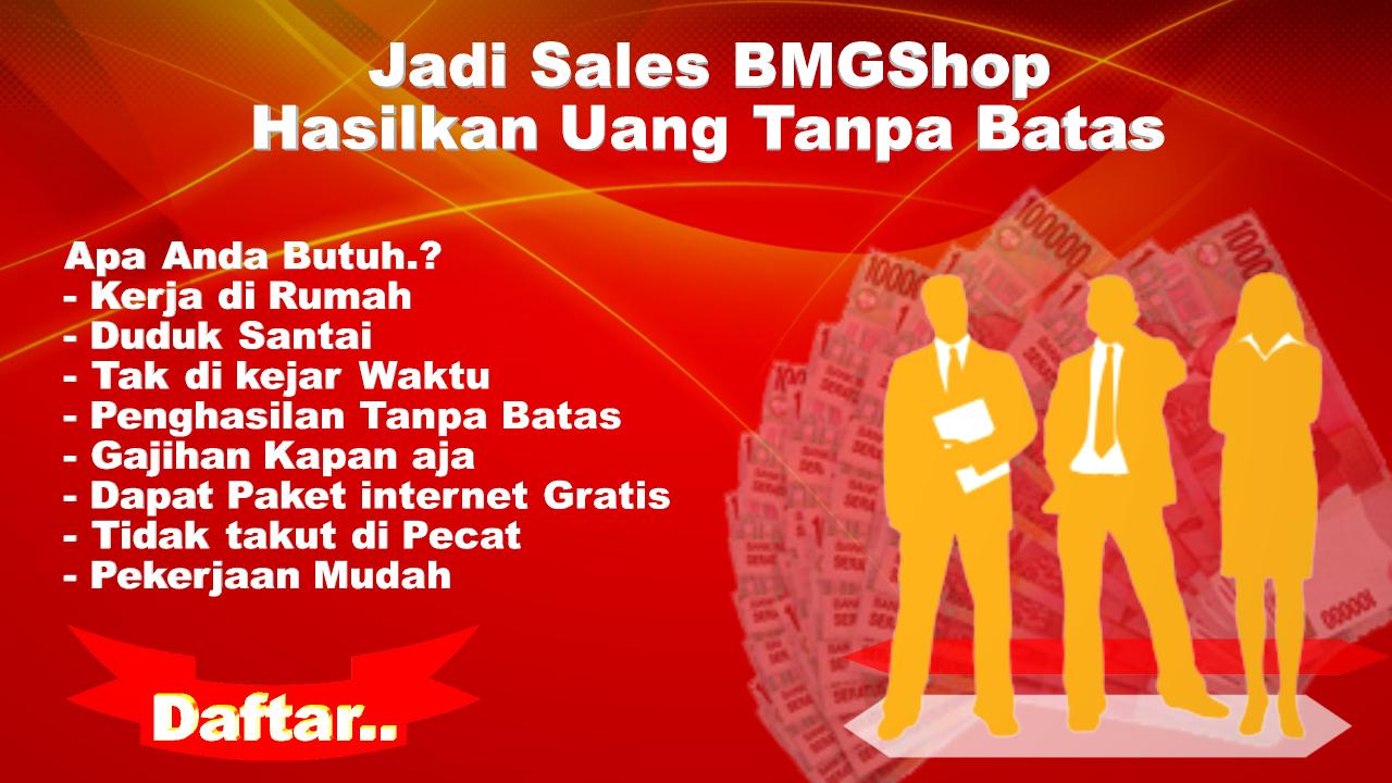 Bisnis Sales Online Shop Yang Menguntungkan BMGShop c8b67e150f