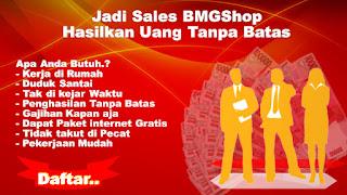 Bisnis Sales Online Menguntungkan BMGShop