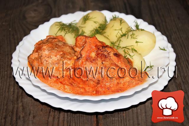рецепт цыпленка по-венгерски