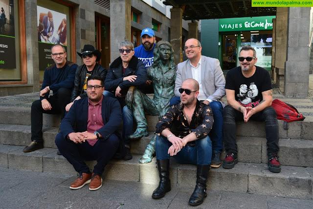 El grupo de rock granadino La Guardia ya está en la Isla de La Palma
