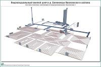 Проект одноэтажного жилого дома в пригороде г. Иваново - д. Беляницы Ивановского района. Система отопления, вентиляции и кондиционирования. Перспектива 1