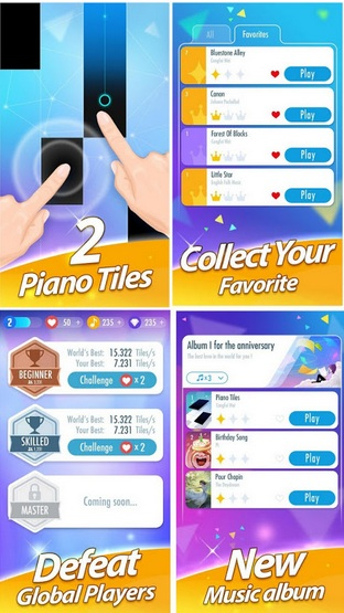 Download Game Piano Tiles 2 MOD APK 2018 (Update v3.0.0.977)