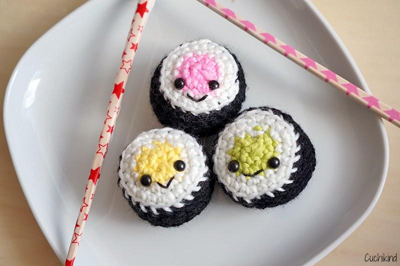 Sushi für die Kinderküche