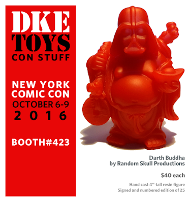 "New York Comic Con 2016 Exclusive ""Sith Red"" Darth Buddha by Random Skull Productions x DKE Toys"
