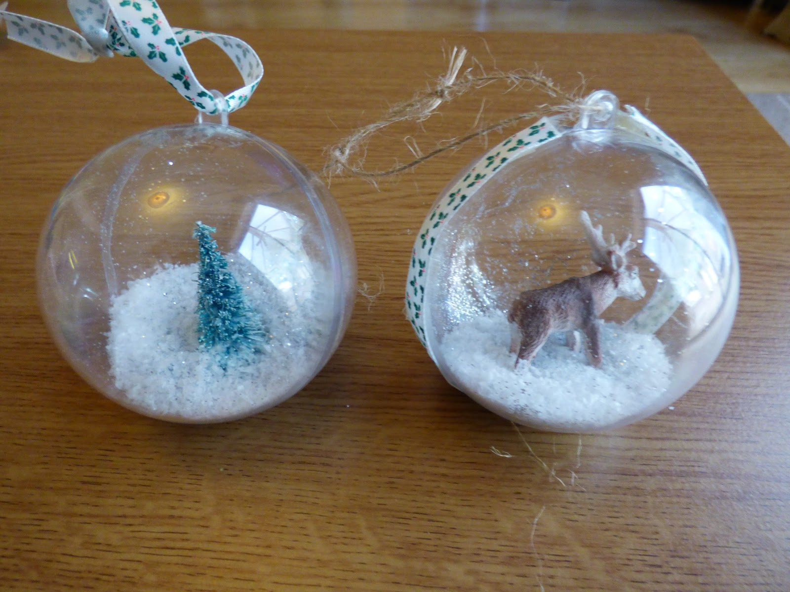 Nanny Bicester: DIY Christmas Baubles-How to make step by step
