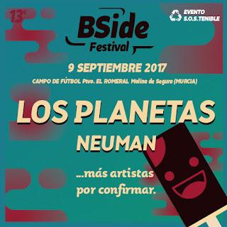 El B-SIDE Festival avanza a LOS PLANETAS y a NEUMAN