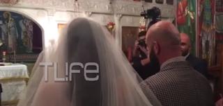 Ο Υπάτιος Πατμάνογλου παντρεύτηκε την αγαπημένη Εμμανουέλα – Nέες φωτογραφίες και βίντεο