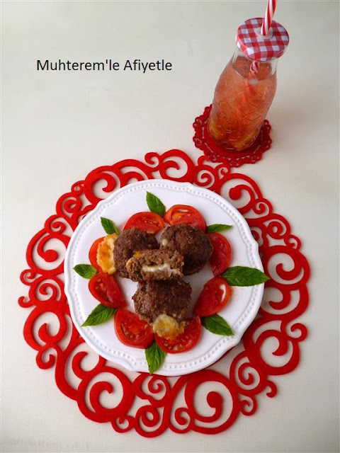 muffin kalıbında köfte
