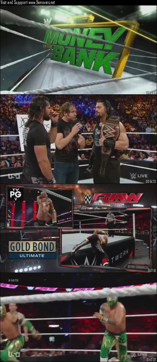 WWE Monday Night Raw 13 June 2016 HDTV 480p