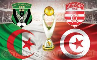بث مباشر  مباراة الافريقي وشباب قسنطينة  11 / 1 / 2019 دوري أبطال أفريقيا