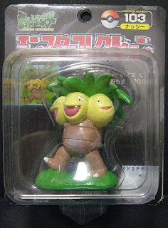 Exegguto Pokemon figure Tomy Monster Collection black package series
