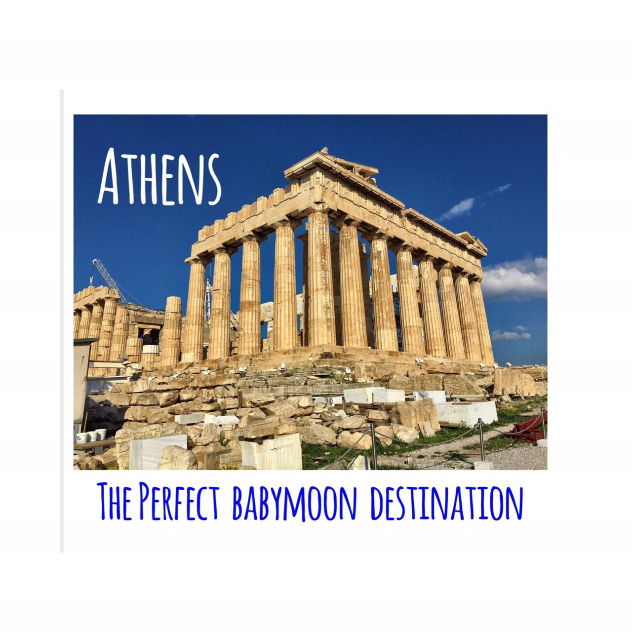 Babymoon to Athens, Greece