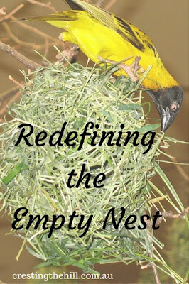 Once the nest is empty it's time to redefine your idea of family