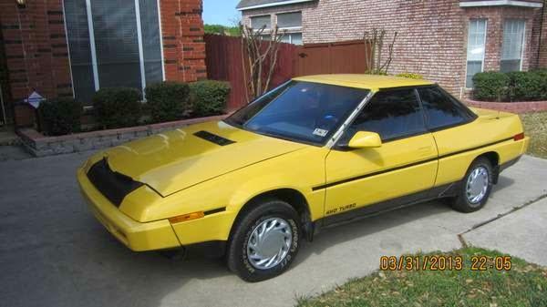 Rare 1987 Subaru XT Turbo Sport Coupe