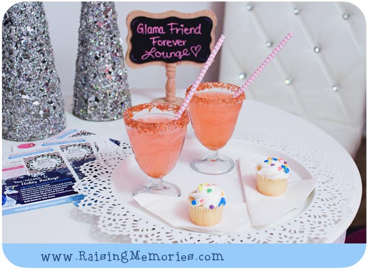 Cupcake Lounge at Glama Gal Tween Spa Toronto