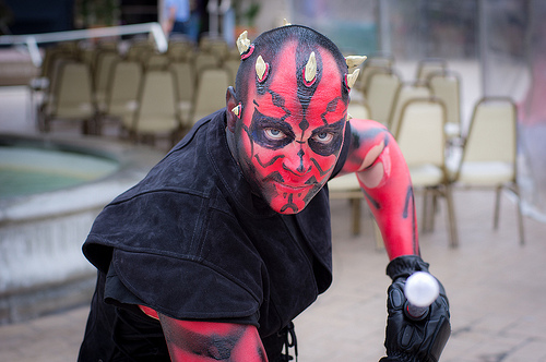 darth maul cosplay